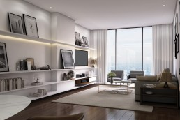 Harbour Row Living Space 1